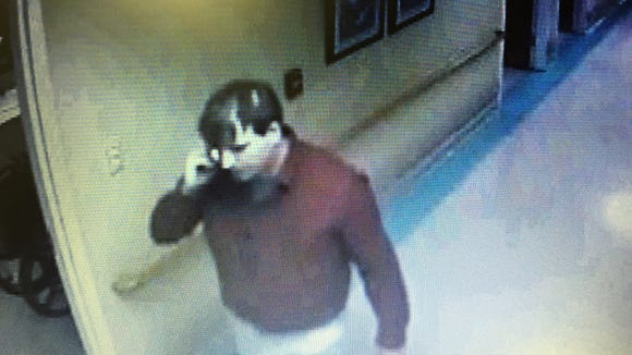 Clayton Kelly is shown in surveillance video from Easter