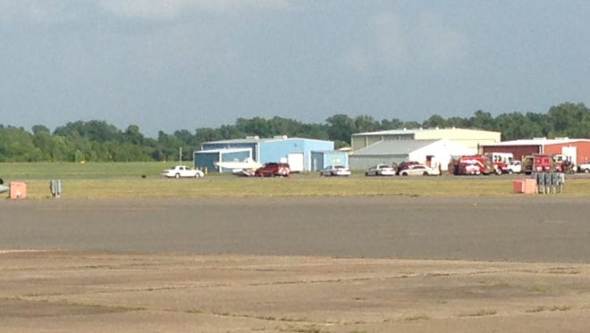 Officials say a small plane has crashed at Shreveport Downtown Airport.
