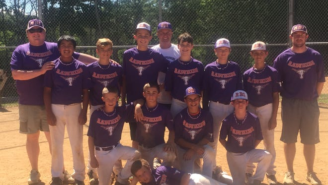 The RBI 12U baseball team.