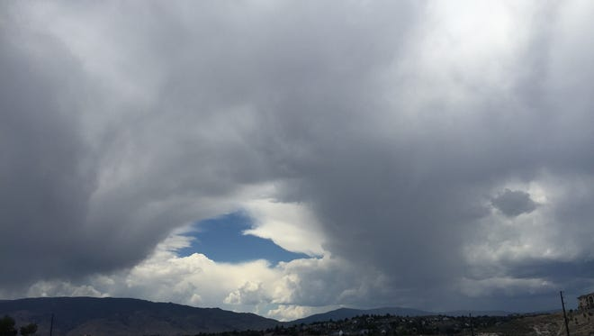 Clouds approach Reno on Tuesday. Wednesday's forecast includes more of the same.