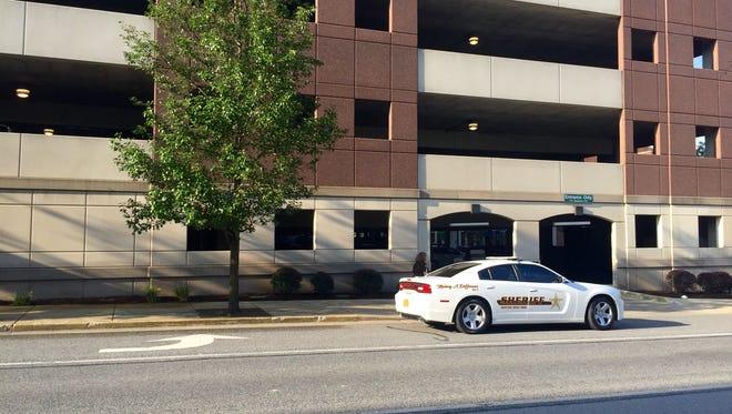 Tippecanoe County parking garage/file photo