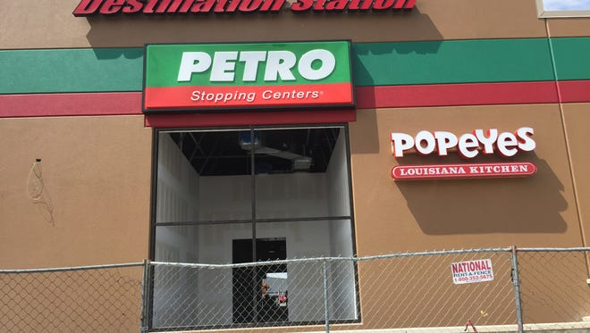 The News Leader caught a glimpse of the new Popeyes under construction at White's Travel Center in Raphine Monday. The restaurant is set to open Sep. 16.