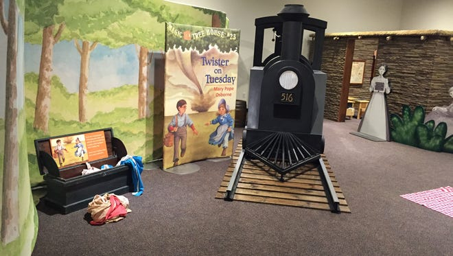 The Upcountry History Museum – Furman University's current special exhibit is Magic Tree House, based on the best-selling children's book series written by Mary Pope Osborne.