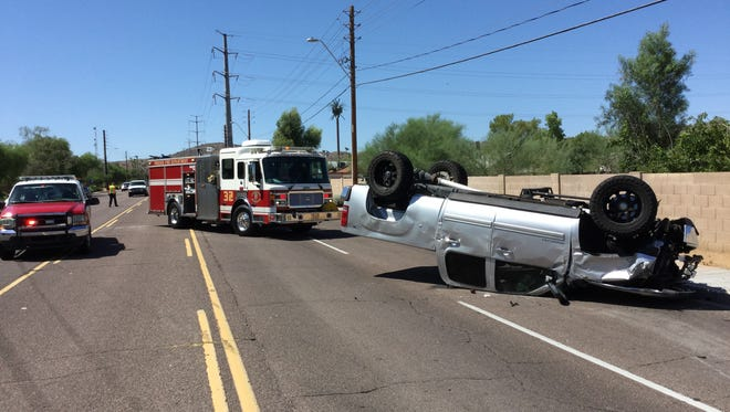 Collision causes multiple injuries in Phoenix Sunday morning.