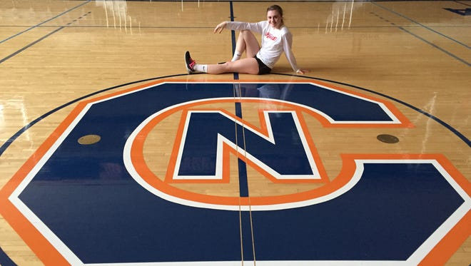 North Buncombe senior Morgan Ballard has committed to play college volleyball for Carson-Newman.