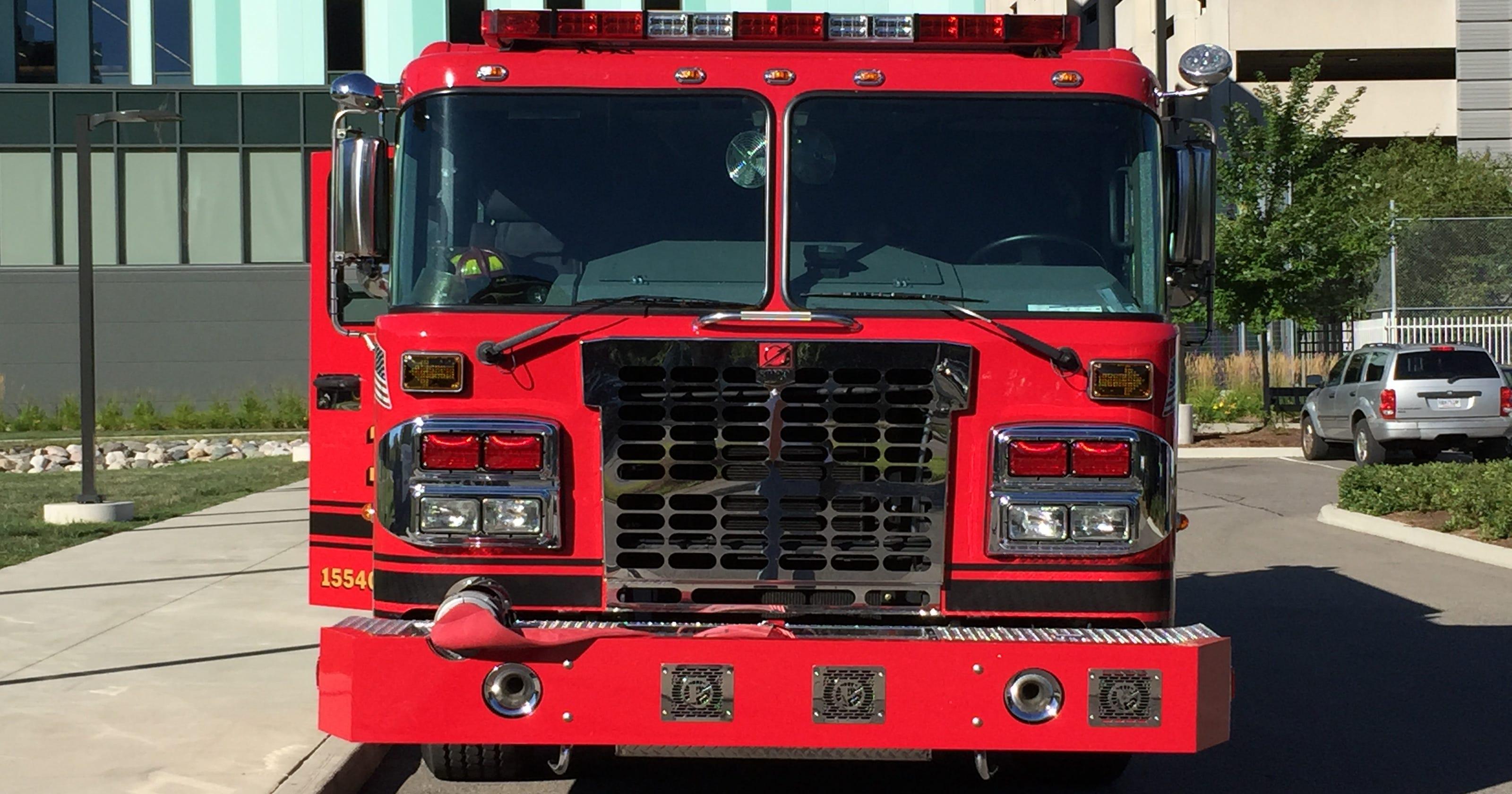 Detroit reveals 5 sparkling new fire engines