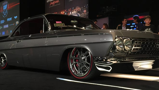 A 1962 Chevrolet Impala took home the top prize in the 2015 Barrett-Jackson Cup for best-in-show. The auction company told Reno officials it won't be returning in 2016 after three years in the Truckee Meadows during Hot August Nights.