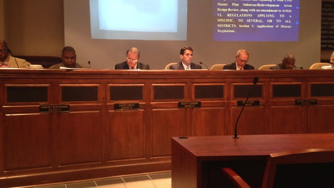 The Jackson City Council approved funding for improvements to several roads at Tuesday morning's meeting.