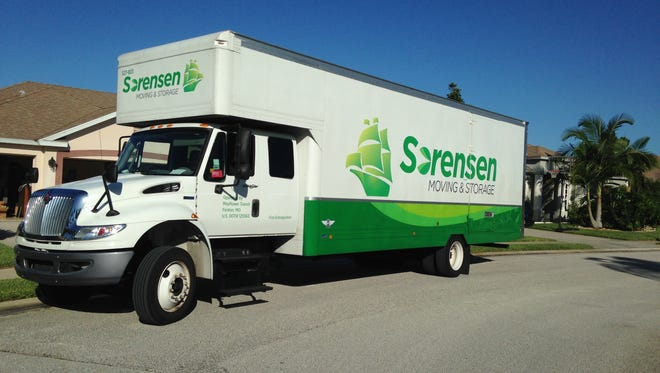 A brisk real estate market, and an increase in business trade shows, has allowed Sorensen Moving & Storage to expand