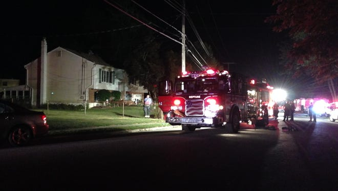 Firefighters have extinguished a fire at a residence on Worth Road in Neptune.