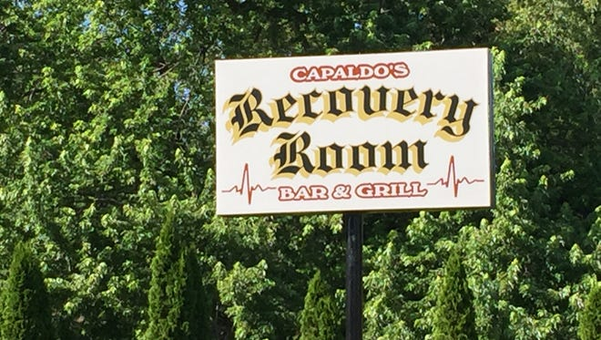 The Recovery Room sign at 1517 Empire Blvd. Penfield.