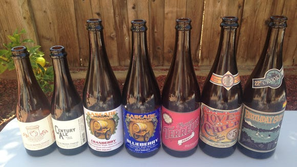 More than 40 sour beers were available to try at Salinas