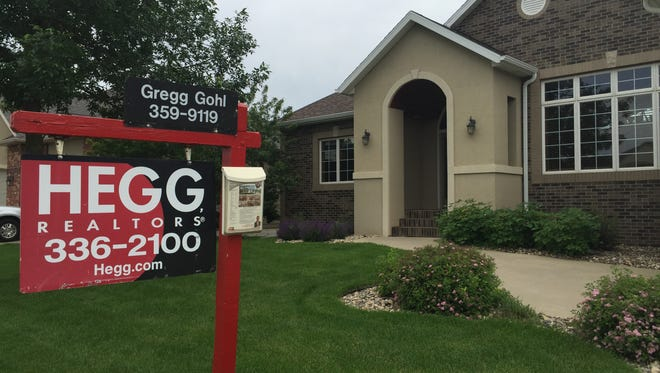 The city of Sioux Falls has a 3.4-month supply of homes on the market.