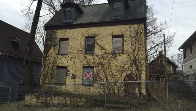 Nyack's John Green house. A local non-profit plans to restore the 200-year-old structure