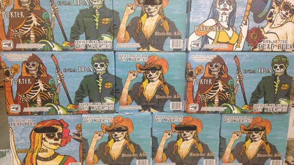 Day of the Dead variety pack touts itself as Mexican craft beer.