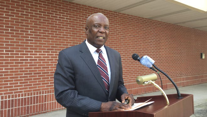 Spring Valley Mayor Demeza Delhomme in front of Village Hall on Wednesday, Aug. 19.