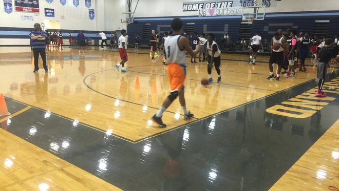 The Crossroads of the South Exposure Camp at Ridgeland High School