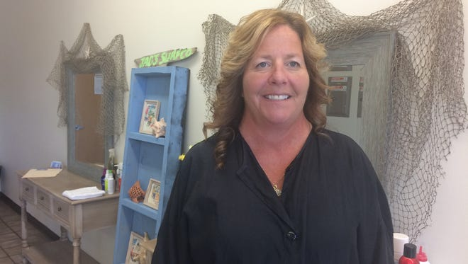 Jennifer Zander, who has 25 years hair-cutting experience, opened The Barefoot Barber, 4173 Hwy 45, north of Fond du Lac.