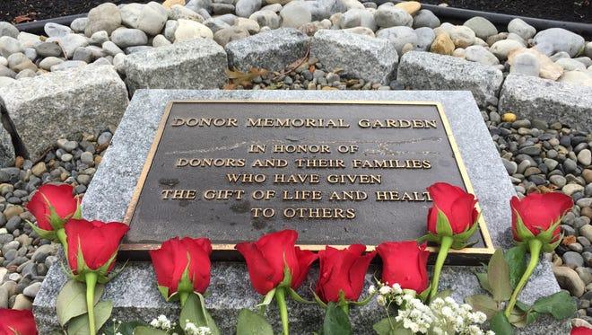 A new donor garden at Medtronic's Eatontown Facilty was dedicated Tuesday.