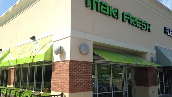 Maki Fresh closed its Montgomery location Wednesday