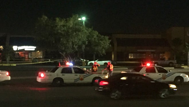 El Paso police investigate a fatal motorcycle crash Friday night in the 1200 block of Airway Boulevard near Viscount Boulevard.