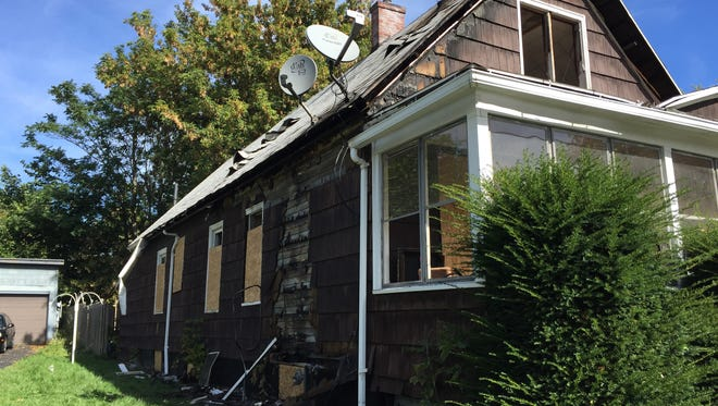 City firefighters responded shortly after midnight Sunday, Oct. 4, to a fire at 34 Kosciusko St.