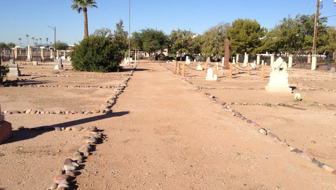 Some of the first Maricopa County sheriffs are buried in Phoenix's Pioneer Cemetery.