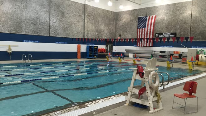 Indoor swimming pool at the Theodore D. Young Community Center in Greenburgh.