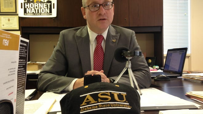 "ASU Campus Police Chief Jim Graboys discussed the ""Run, Hide, Fight"" initiative Wednesday."