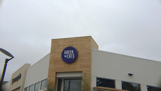 Greek Eats owner George Lyristis said he hopes to open the restaurant by Oct. 21.