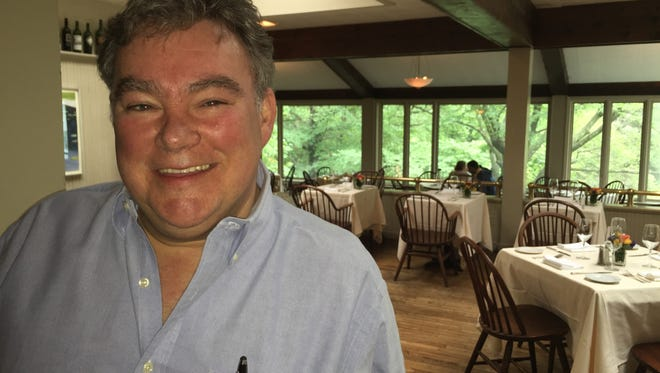 Restaurateur Peter X. Kelly says congestion on the Tappan Zee Bridge has made Westchester residents think twice about driving over to his three restaurants in Rockland. Kelly, seen here at Restaurant X in Congers on Sept. 30, hopes a speedier ride across the new crossing could bring them back.
