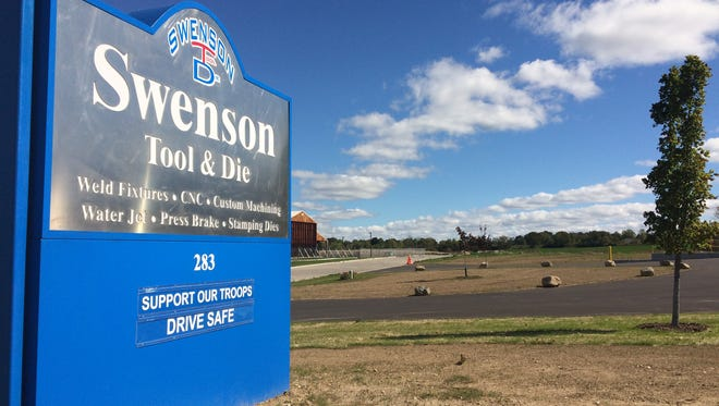 Swenson Tool and Die recently moved to Campbellsport from Kewaskum with help from a Fond du Lac County business loan.