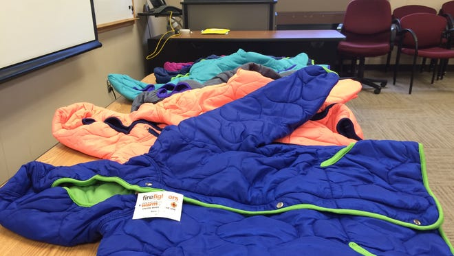 Stevens Point Firefighters are raising money to get local children warm coats for the winter.