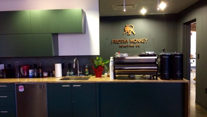 Frothy Monkey has a new facility roasting in the INK building in Nashville.