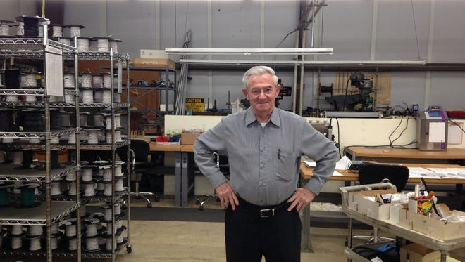 David Bernstein stands inside RDI Wire and Cable Solutions' office in Salisbury in this 2015 file photo.