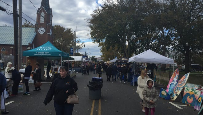 Saturday was the annual Harvest Arts Festival in downtown Toms River.