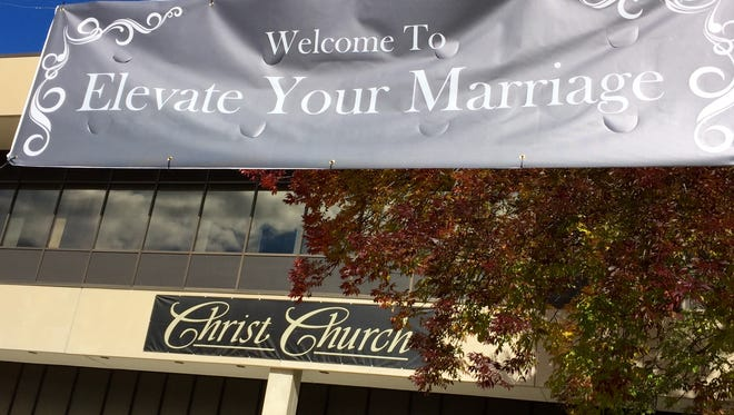 """Hundreds attended Saturday's """"Elevate Your Marriage"""" event at Christ Church in Rockaway."""