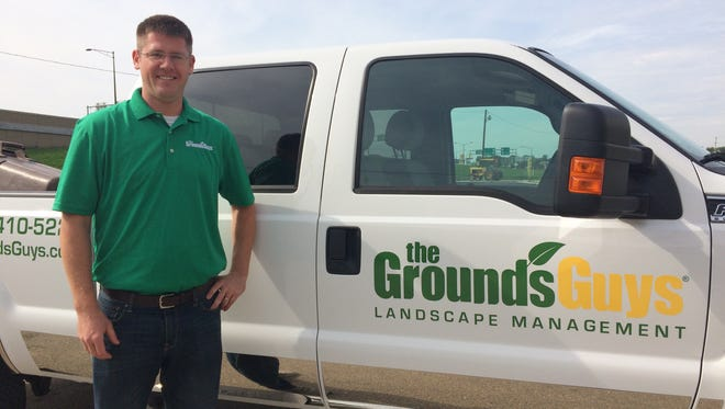 Kelley Flanigan, owner of The Ground Guys in Oshkosh, began landscaping as a 12-year-old.