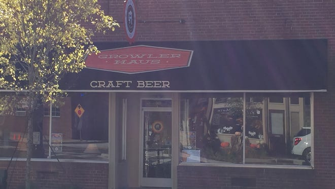 Growler Haus, Fountain Inn's first craft beer store, is sponsoring the city's Hallow Inn event this year.
