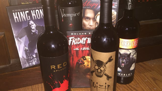 Horror movies and wines go together.