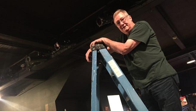 Bill Nurse, of Endwell, got his first theater technician job as a freshman in high school.