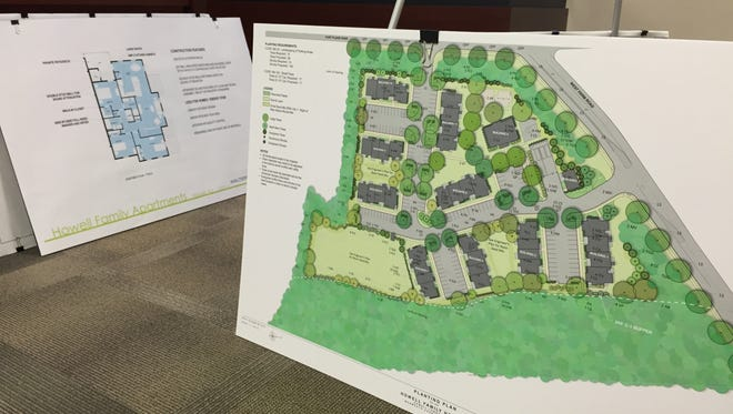 The Walters Group sought preliminary approval for a 72-unit affordable housing development from Howell's Planning Board.
