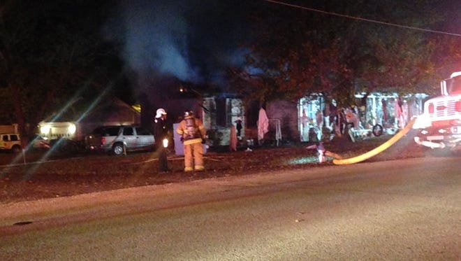 Jackson police, EMS, and Jackson Fire Department responded to a house fire on Aztec Drive in North Jackson early Thursday.