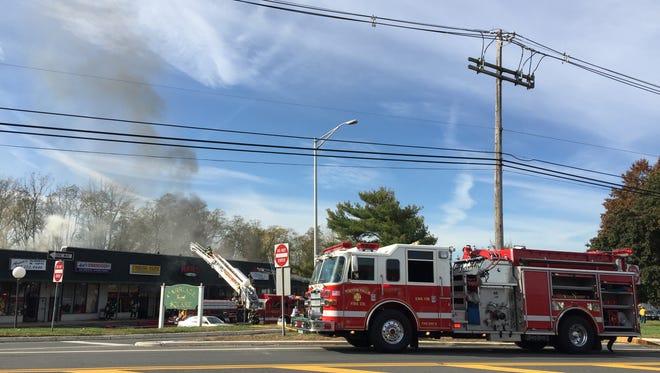 Fire in West Long Branch