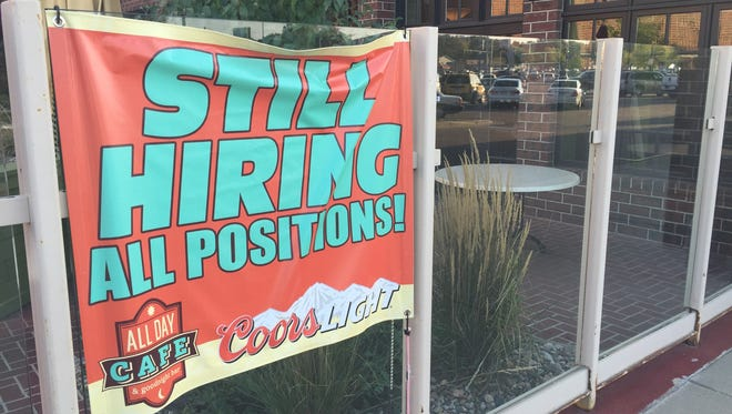 The Sioux Falls unemployment rate was 2.5 percent in September.