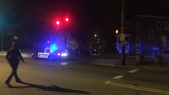 Police are investigating a shooting near Concord and Jackson streets in Wilmington Wednesday night.