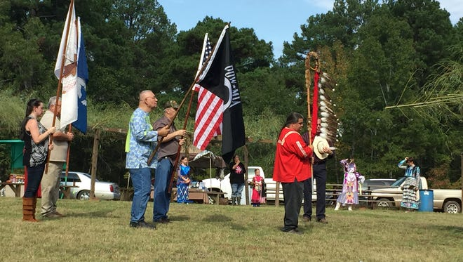 Prisoners of war were also honored at the Choctaw-Apache Veterans pow wow