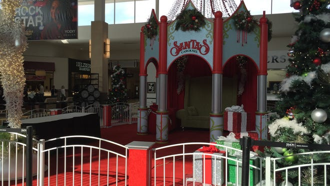 Santa's seat at The Empire Mall will be filled starting Nov. 7.