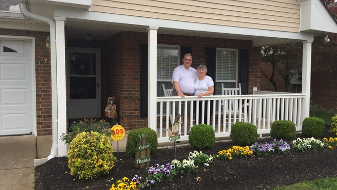 Bob and Lois Graeff were the first to move into The Cottages at Innsbrooke in 1998.
