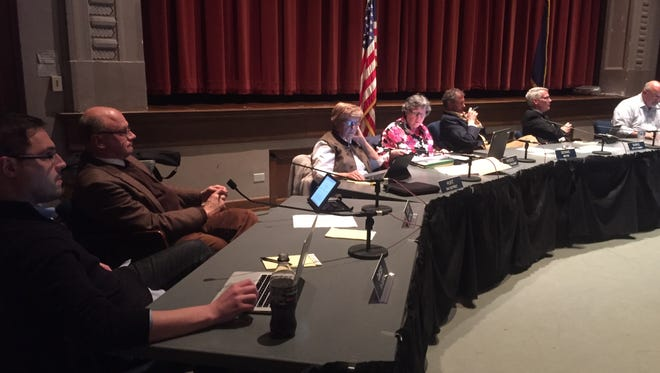A proposed sewer rate increase cleared the first of two readings at the West Lafayette City Council on Monday. A public hearing and final approval will be at next month's meeting.